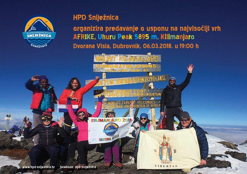 Pozivnica Kilimanjaro, Visia